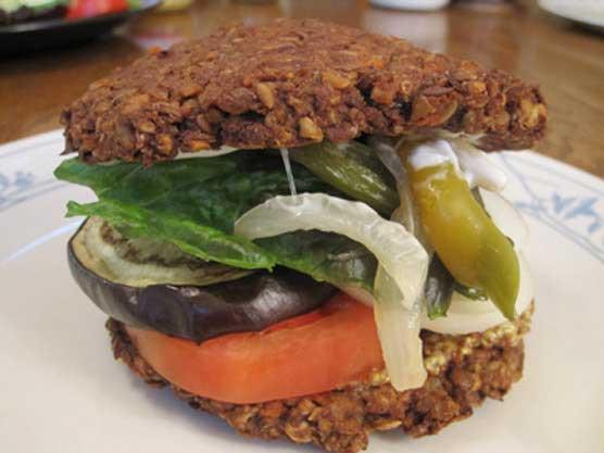 Whoppin' Big Lentil Burgers
