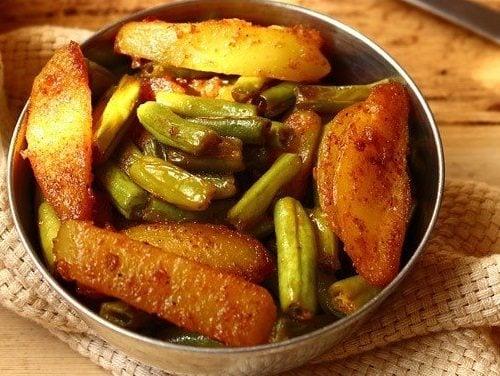 Aloo Beans Recipe