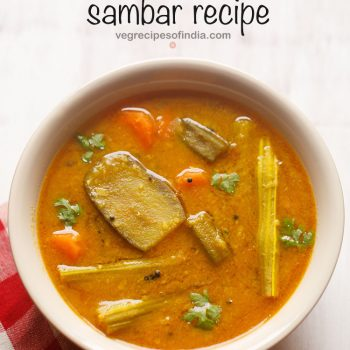 Sambar Recipe (Mix Vegetable Sambar)