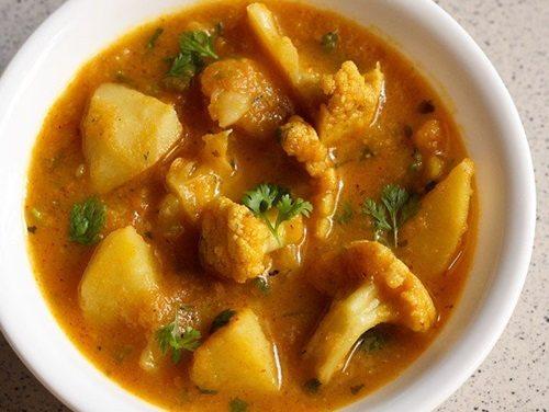 dhaba style aloo gobi recipe