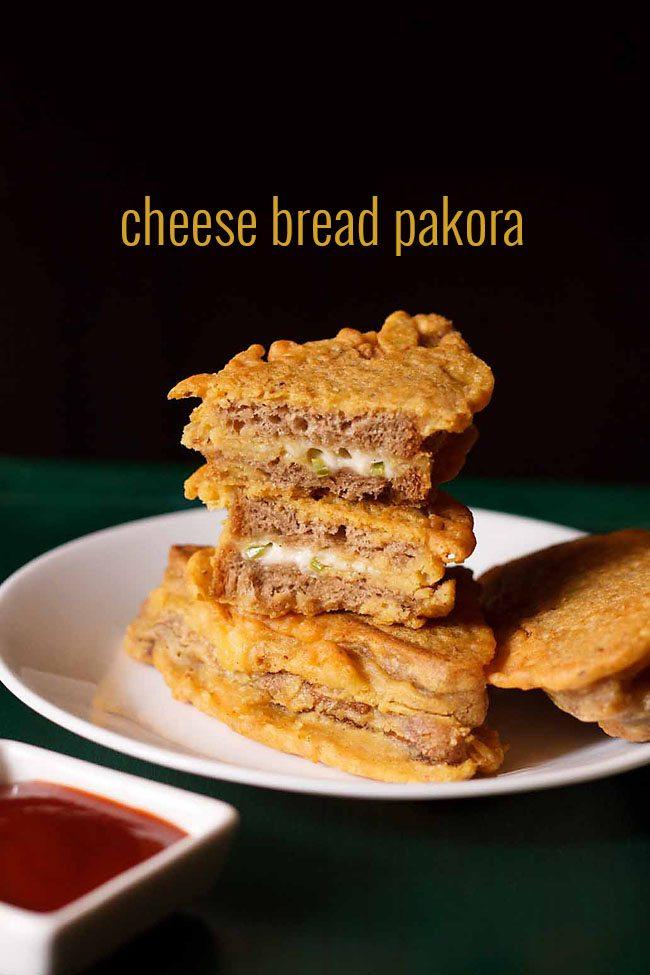 cheese bread pakora recipe