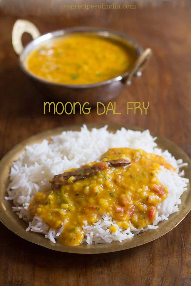 moong dal fry recipe