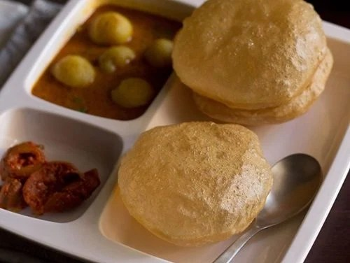 poori recipe or puri recipe
