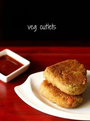 veg cutlet recipe, vegetable cutlet recipe