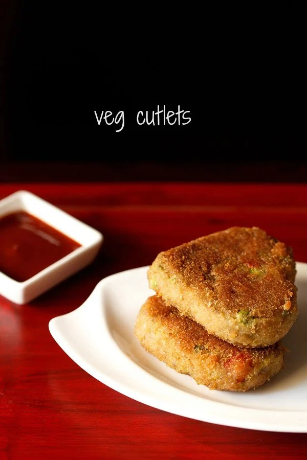 veg cutlet recipe, vegetable cutlet recipe