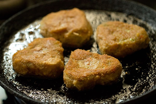 making veg cutlet recipe