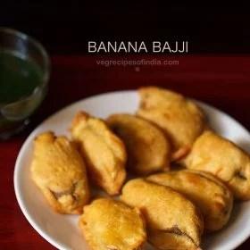 banana bajji, raw banana bajji recipe