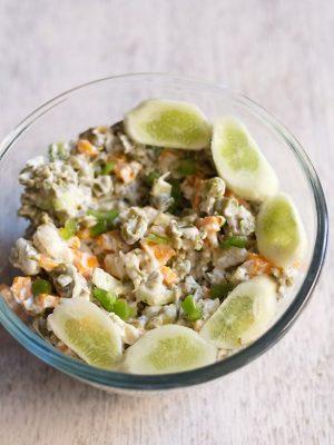 veg russian salad recipe, russian salad recipe