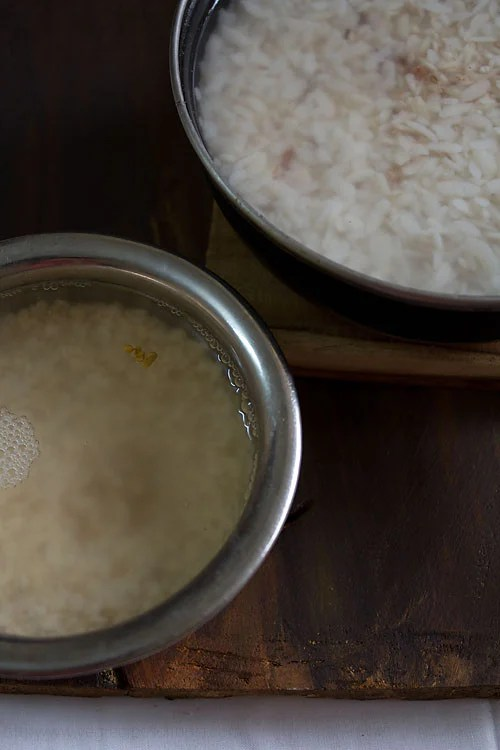 rice urad methi poha for masala dosa recipe