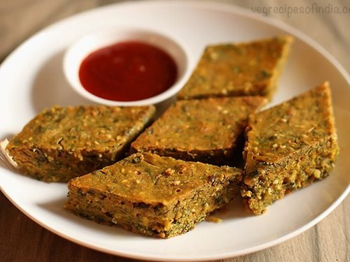 Maharashtrian kothimbir vadi recipe