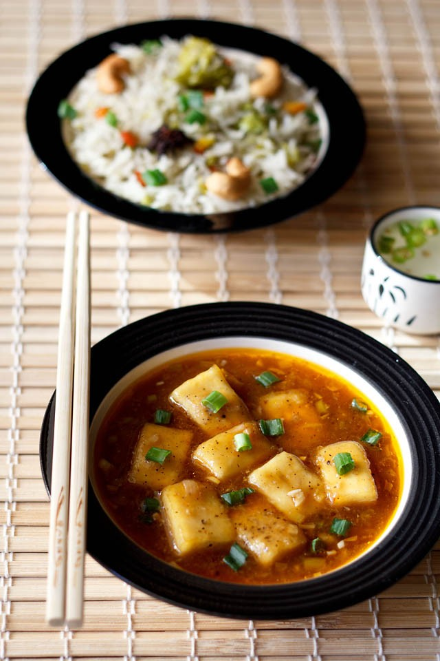 Paneer Manchurian, Paneer Manchurian Recipe