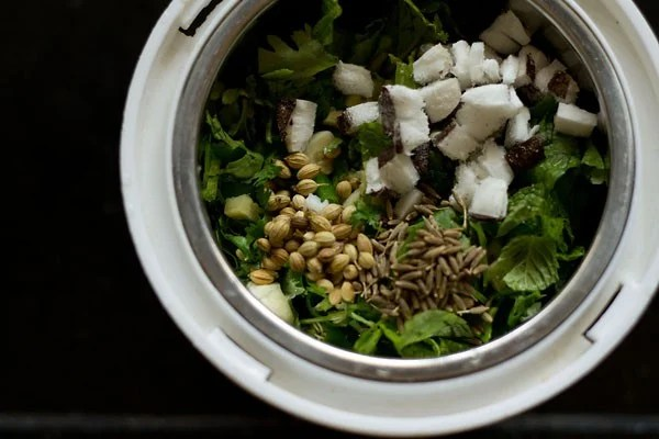 mint spices for mint rice recipe