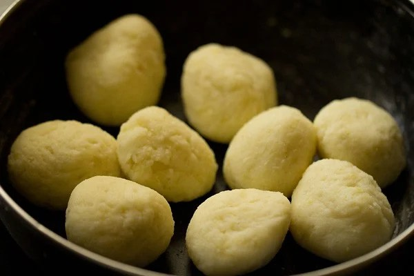 dough balls for farali pattice recipe