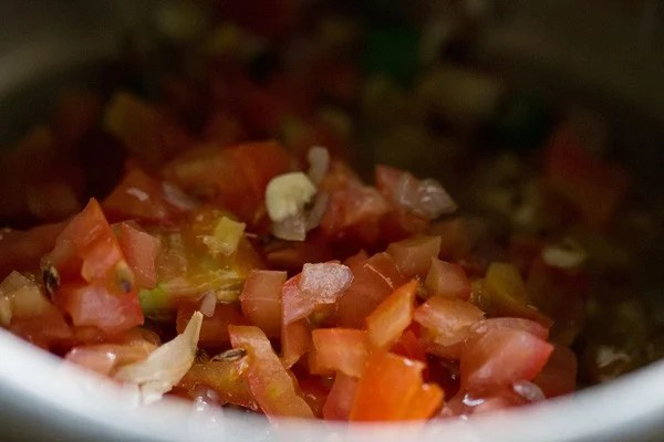 tomatoes for lobia recipe