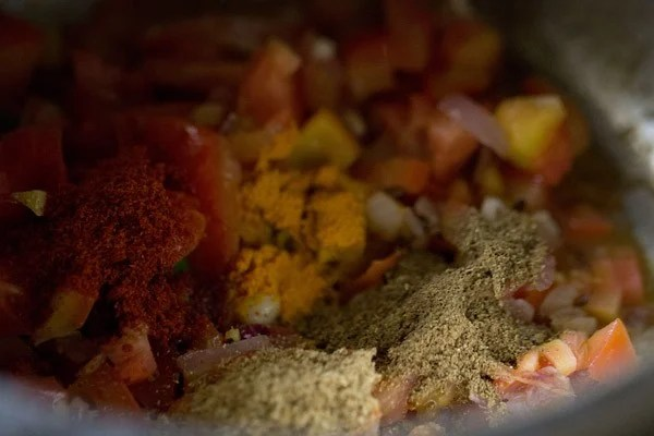 spices for lobia recipe