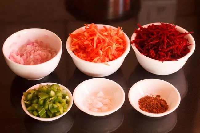 beetroot carrot raita recipe