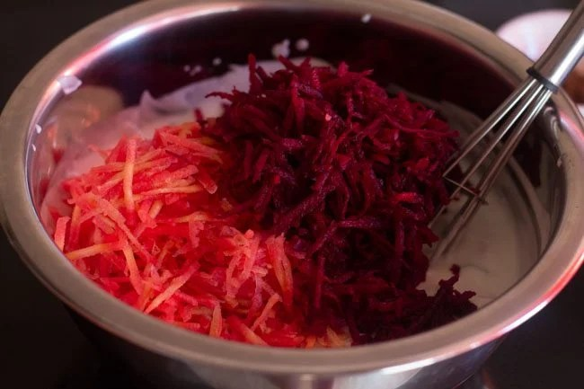 beetroot carrot raita recipe