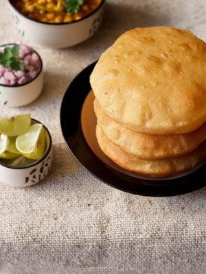 bhatura recipe, bhature recipe