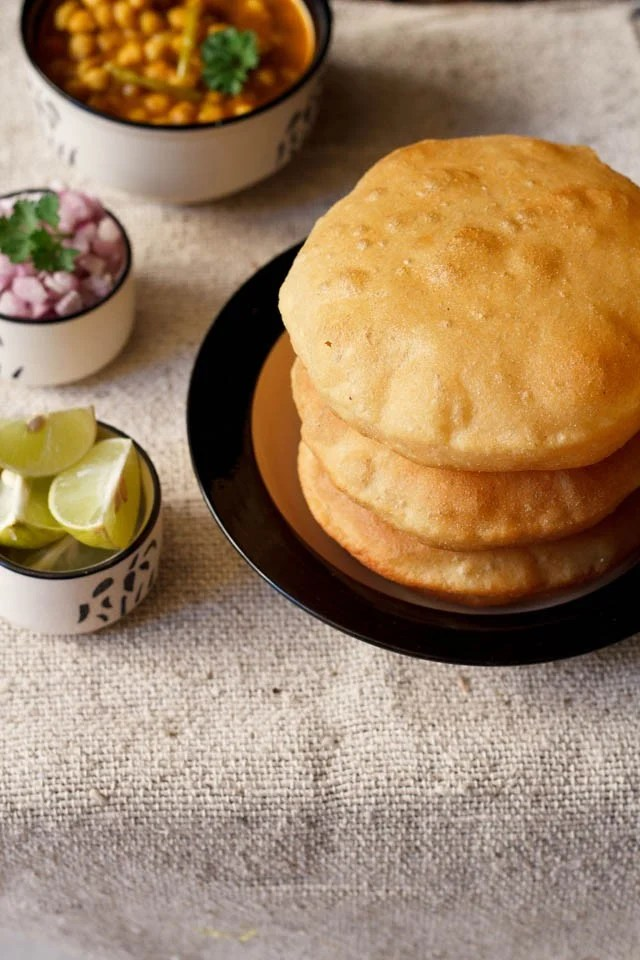 bhatura recipe, bhature recipe