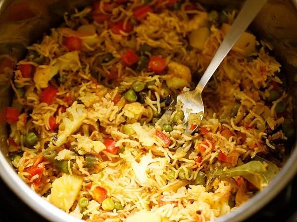 instant pot veg pulao