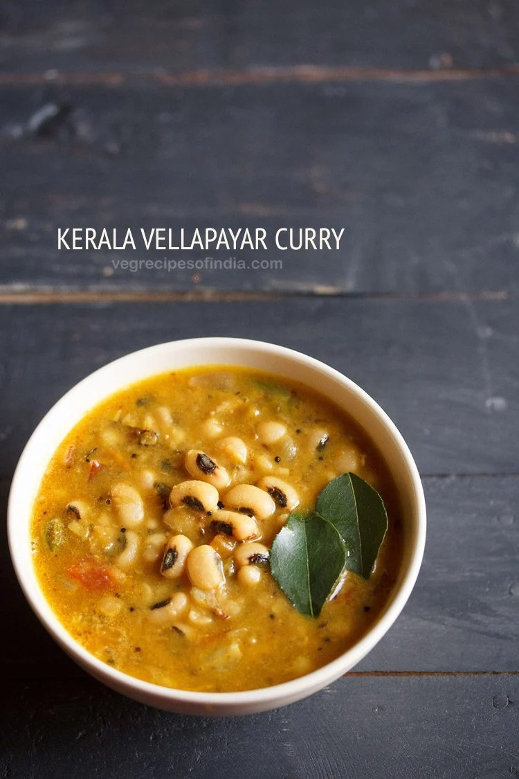 Kerala vellapayar curry recipe