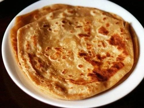 plain paratha recipe