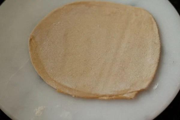 making paratha recipe
