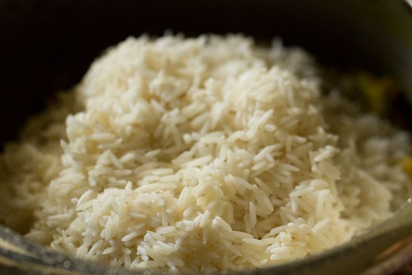 rice for spicy vegetable pulao recipe