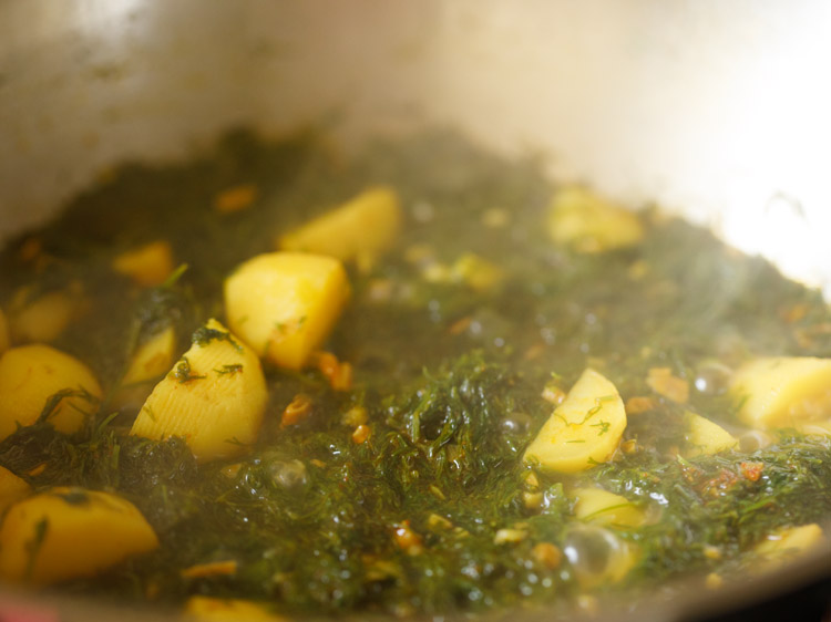 dill leaves recipe