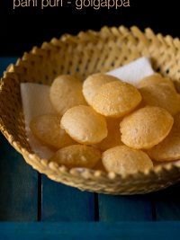 puri recipe for golgappa or pani puri or puchka | golgappa puri recipe