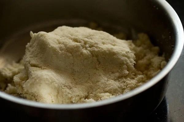 making dough for puri recipe