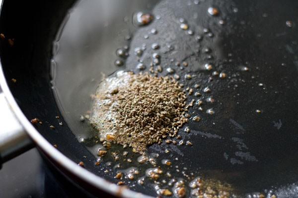 cumin for mooli wadi sabzi recipe