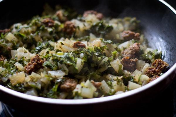 making mooli wadi sabzi recipe
