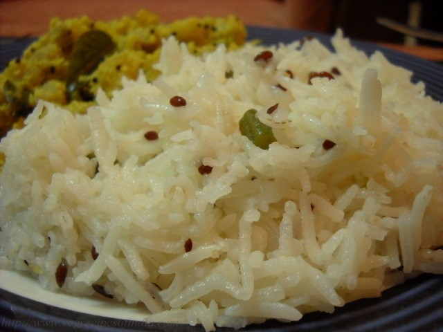 French Beans Flaxseed Rice Recipe