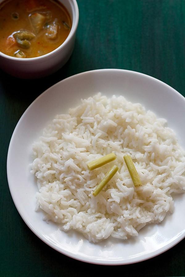 lemongrass rice recipe, thai lemongrass rice recipe