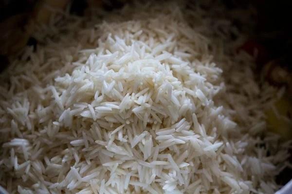 making Goan mushroom pulao recipe
