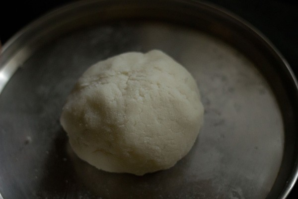 ukad or dough for the modaks