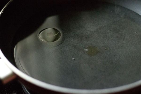 heat oil - making ukadiche modak cover