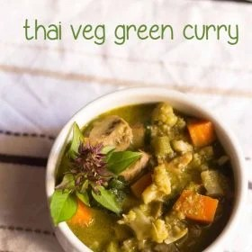thai green curry recipe, thai curry