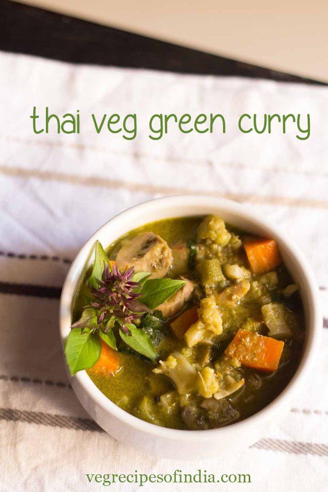 thai green curry recipe, thai curry
