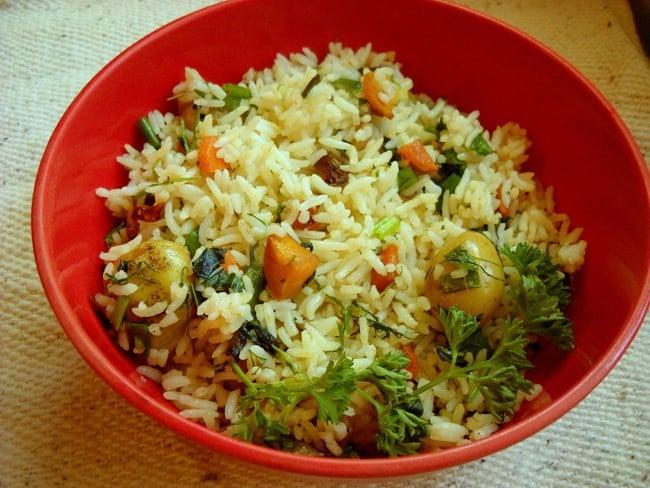 herb rice