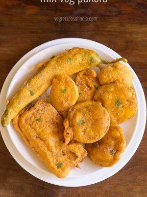 mix veg pakora recipe