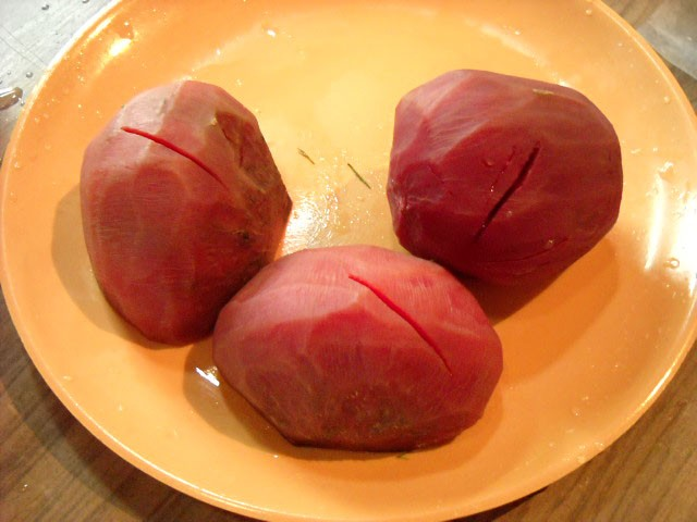 boiled beetroot for borscht soup recipe
