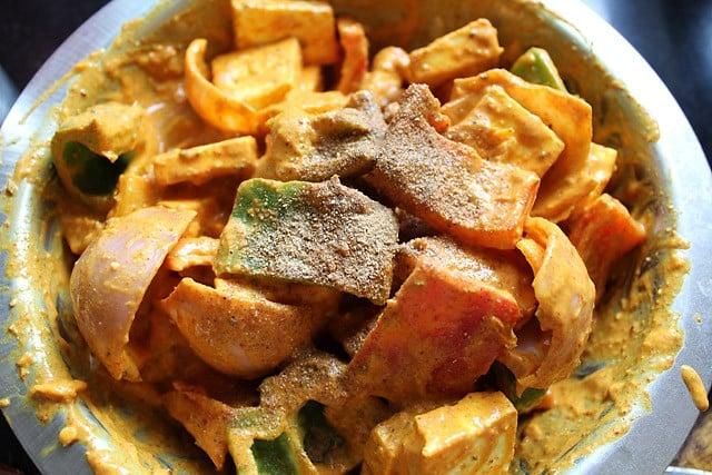 chaat masala for paneer tikka recipe