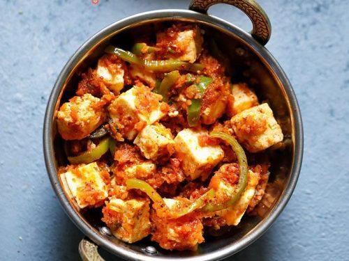 Kadai Paneer Recipe 2 Ways Restaurant Style And Kadai Paneer Gravy