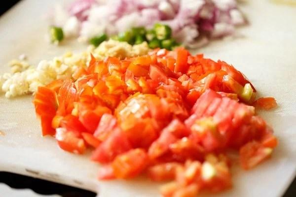 veggies for rajma recipe