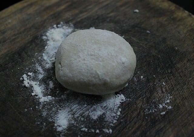 aloo bhatura dough balls