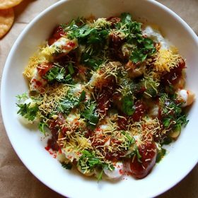 papdi chaat recipe, papri chaat recipe