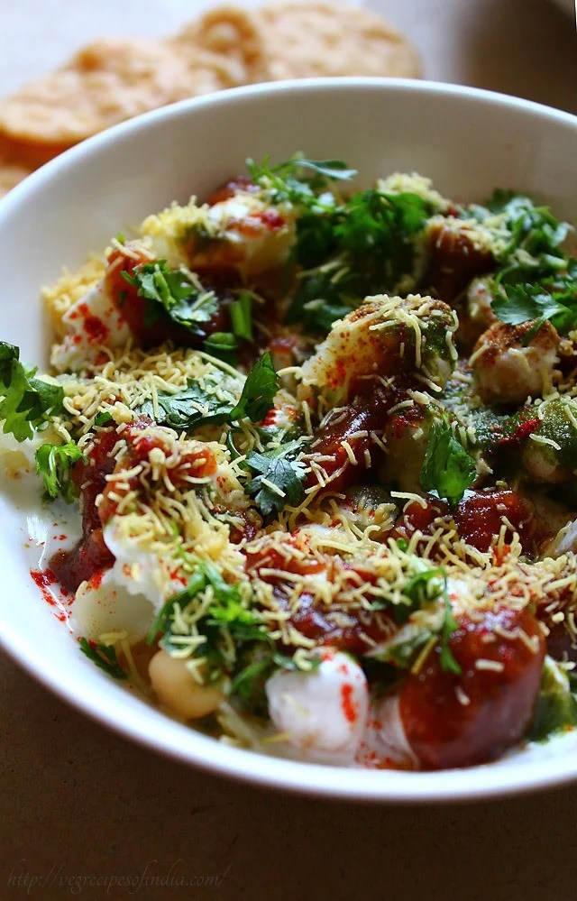 sev for papdi chaat recipe