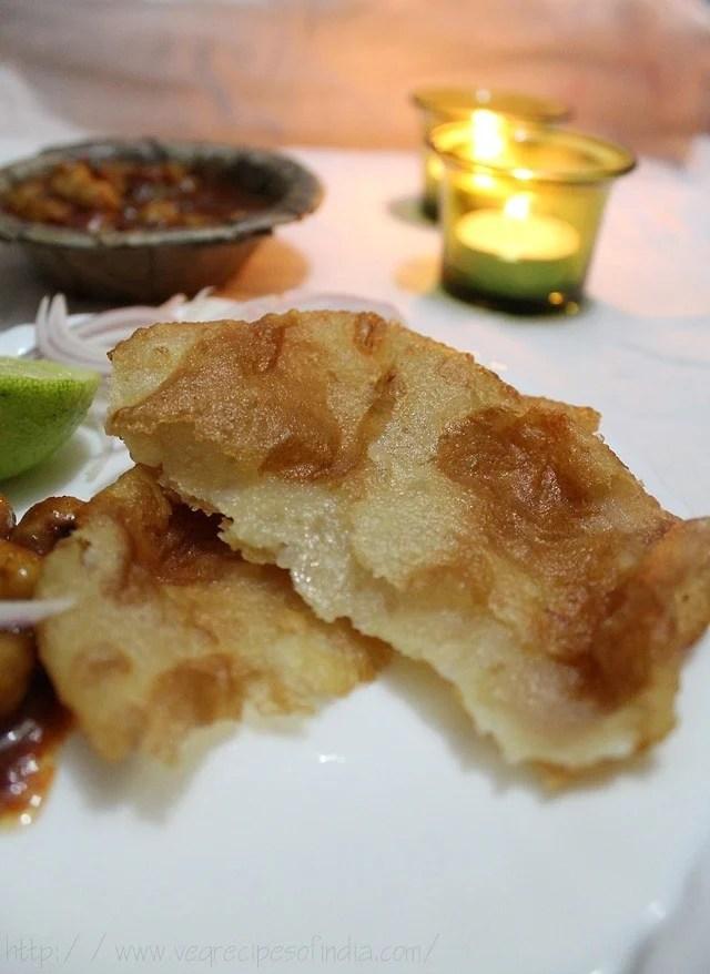 punjabi bhatura with chole